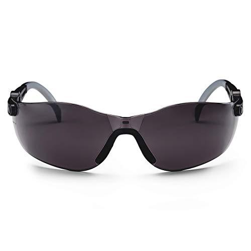 SolidWork Schutzbrille mit integriertem Seitenschutz, beschlagsfreien, kratzfesten und UV Schutzbeschichteten Gläsern
