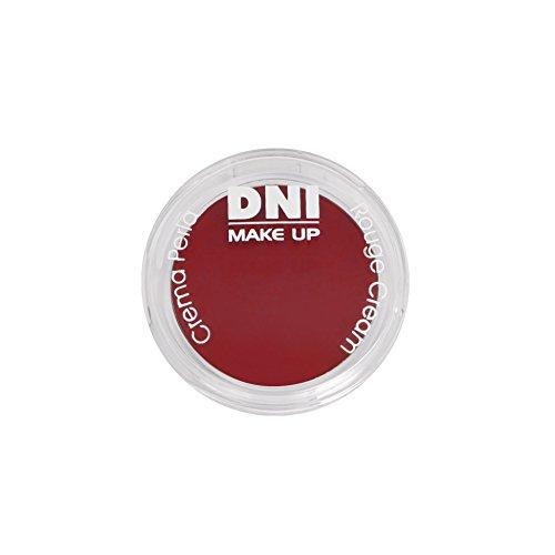 Sombra en crema para rubor y labios, Rouge cream, 3gr · nº 5, color Rojo granada, DNI MAKE UP