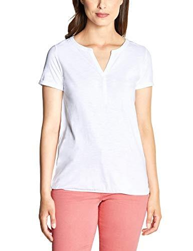 Cecil Damen 313636 T-Shirt, White, Medium (Herstellergröße:M)