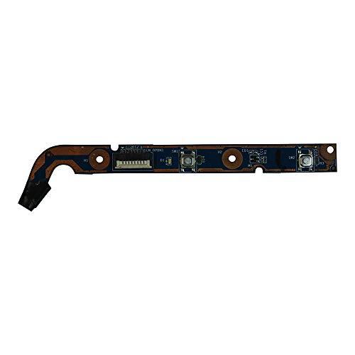 Power4Laptops reemplazo Placa del botón de Encendido del portátil Compatible con HP Pavilion DV6-6182nr