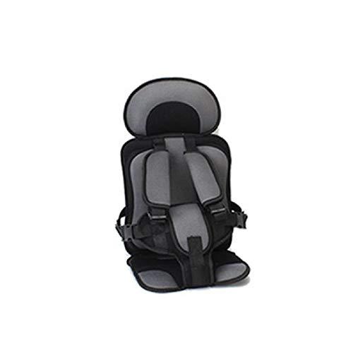 Asiento de seguridad para niños portátil, asiento de fácil instalación para bebés, cojín de asiento de viaje para niños de 04612 años