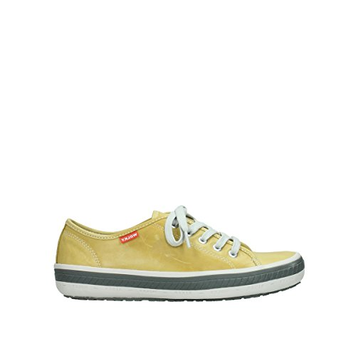 Wolky Comfort Sneakers Giro - 30920 hell gelbes Leder - 36