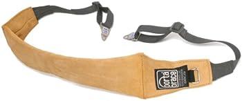 Porta Brace Heavy-Duty Suede Shoulder Strap with Camera Clips