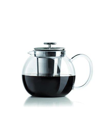 Bialetti Teebereiter Tea Pot, Kunststoff, Transparent, one Size