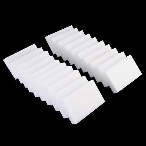 vogueyouth Esponjas Magic Eraser: Bloques de Limpieza para el hogar, Estropajo Extra Duradero y Esponja de Limpieza para Eliminar Manchas y Marcas sin Necesidad de Productos químicos, Paquete de 60