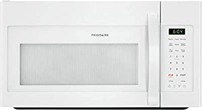"""Frigidaire FFMV1846VW 30"""" White Over the Range Microwave with 1.8 cu. ft. Capacity, 1000 Cooking Watts, Child Lock and 300 CFM in White"""
