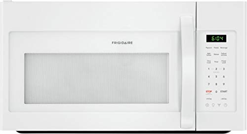 Frigidaire FFMV1846VW 30' White Over the Range Microwave with 1.8 cu. ft. Capacity, 1000 Cooking Watts, Child Lock and 300 CFM in White
