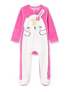 Tuc Tuc Pelele TUNDOSADO Chic Bunny Mamelucos para bebés y niños pequeños, Blanco, 12-18M
