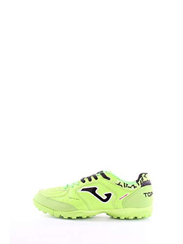Joma Top Flex 811 Fluo Turf - Scarpa Calcetto Uomo - Men's Futsal Shoes - TOPS.811.TF (EU 43 - CM 28 - UK 8.5, Verde)