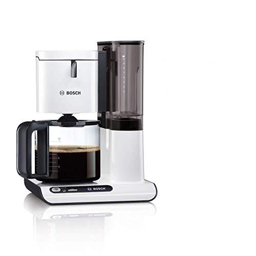 Bosch Styline TKA8011 Kaffeemaschine (1160 Watt, für 10-15 Tassen) weiß