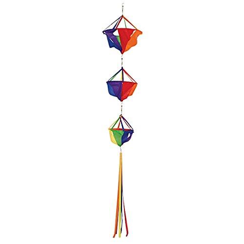 Cometas Y Juguetes Voladores Colorida del Viento de Pescados/Cubo de Tres Capas,Deportes Recreativos - Cubo de tres capas