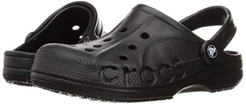 Crocs Baya Clog Unisex Adulta Zuecos, Negro (Black), 38/39 EU