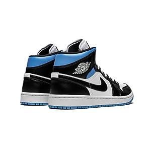 Nike Air Jordan 1 Mid University Blue (BQ6472 102) Size 11W, 9.5M