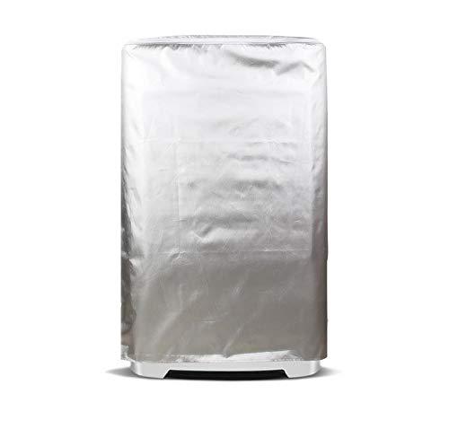 UCARE - Fundas para lavadora, impermeable, color plateado