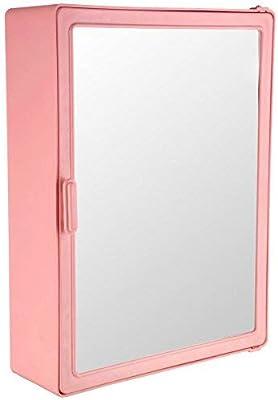 """Victor Enterprises Fantasy Bathroom Mirror Cabinet, Pink (14""""x18""""x4"""")"""
