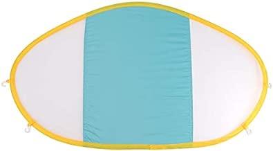 Free Swimming Baby Swim Float Removable Canopy UPF 50+ UV Sunshade,Separately (Blue)