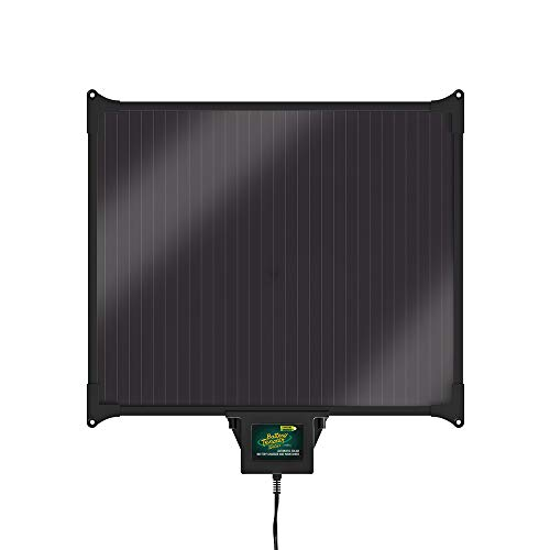 Battery Tender 12V, 270mA, 5W Solar Battery Charger - Weatherproof by Deltran 021-1163