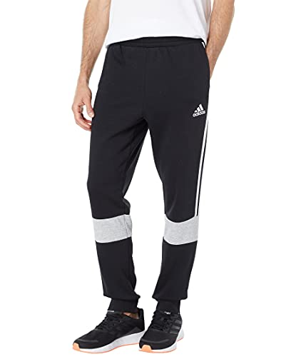 adidas Color-Block Pants Black/Medium Grey Heather MD