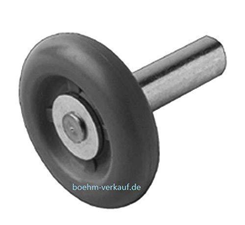 Novoferm Laufrolle, kurze Achse für Sektionaltor GSZ/GST, 40er FKS, links/rechts. Art.Nr. 30477000
