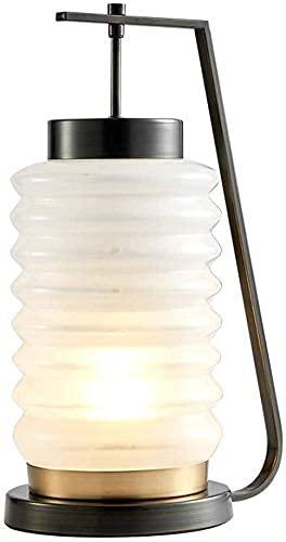 BUNUMO Lámpara de cabecera para el hogar, lámpara de cerámica para decoración de Sala de Estar