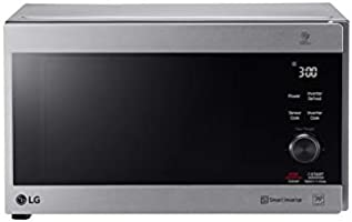 LG 42 Liter Neo Chef Inverter Microwave with Grill, Silver - MH8265CIS, 1 Year Warranty