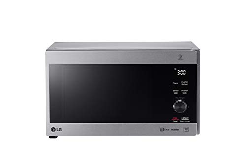 LG 42 Liter Neo Chef Inverter Microwave with Grill, Silver – MH8265CIS, 1 Year Warranty