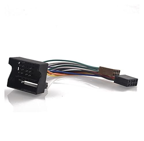 FENGFENG Sun Can Radio de automóvil ISO Adaptador Interruptor Cable Fit para Ford Fiesta Fusion Focus Mondeo C-MAX S-MAX Transit KUGA