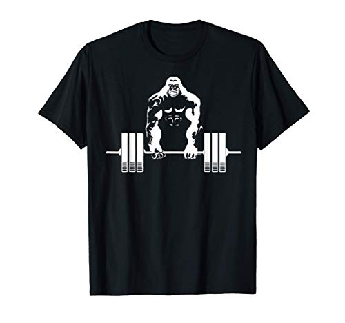 Weightlifting Gym angry gorilla - Fitness gorilla workout Maglietta
