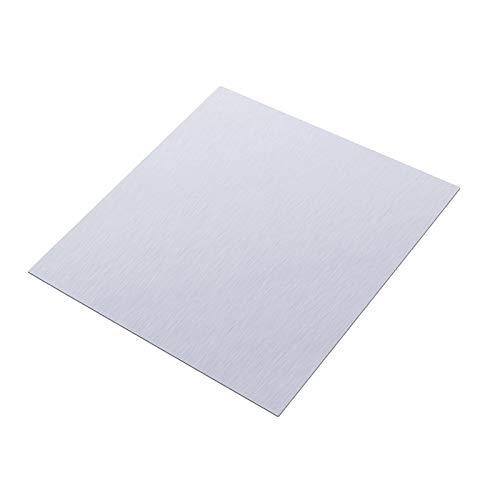 Verakee Yuhong-Platten Reine Zinkplatte Hohe Reinheit Reine Zinkplatte Zinkblattplatte 0,5 mm Dicke Metallfolie 100x100x0,5mm for Wissenschaft, 1 stück, Hohe Reinheit