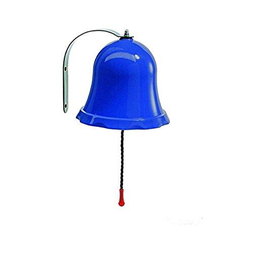 Gartenpirat Glocke blau aus PP/ Metall für Kinder