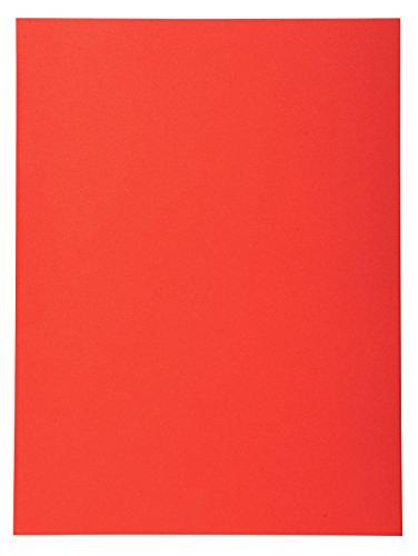 Exacompta 420012E - Lote de 100 Subcarpetas Forever® 180, Color Rojo
