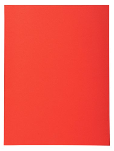 Exacompta 420012E - Lote de 100 Subcarpetas Forever 180, Color Rojo