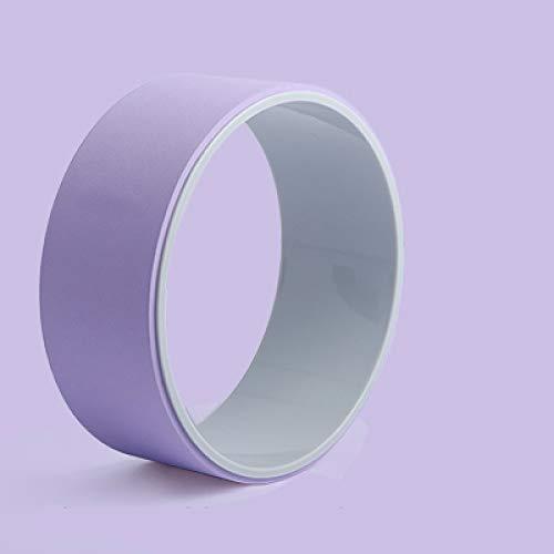 FSSQYLLX Yoga Circle Wheel Fitness Ring Loop Professional Waist Shape Bodybuilding Gym Shape Equipment