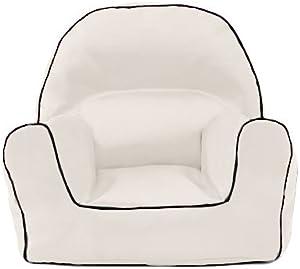 Ready Steady Bed Weiß Kinder Kleinkinder Wasserabweisend gefüllt Sitzsack Sessel Liege Sitz