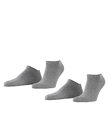 ESPRIT Herren Basic Uni 2-Pack M SN, Grau (Light Grey Melange 3390), 39-42