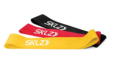 SKLZ Mini Bands, Banda Elastica Unisex Adulto, Multicolore, Taglia Unica
