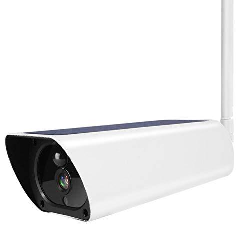 Cámara con energía Solar Cámara para Exteriores 1080P Función de Alarma de detección Pir Ip66 Impermeable y(US Version (Only for South America))