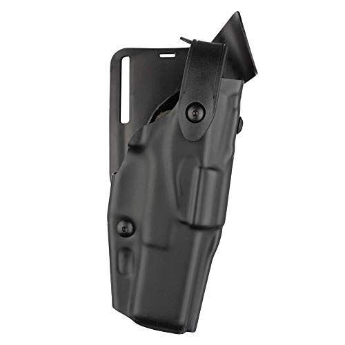 Safariland 6365 ALS Level II Plus w/Drop UBL Holster - Plain Black, Right Hand 6365-53-61