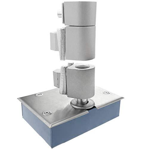 PrimeMatik - Deurdrangers met bouten. Automatische deursluiting 100Kg 1000mm 156x110x42mm