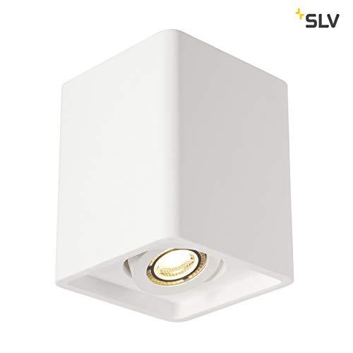 SLV PLASTRA BOX Leuchte Indoor-Lampe Gips/Stahl Weiß Lampe innen, Innen-Lampe