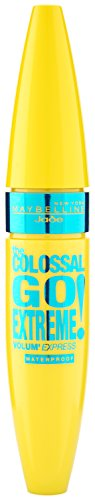 Maybelline Volum' Express The Colossal Go Extreme! Mascara in Very Black Waterproof, wasserfeste...