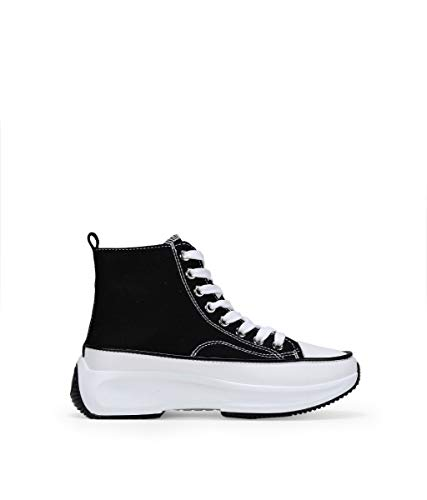 BOSANOVA Zapatillas Negras con Plataforma Negro 36