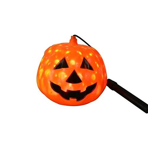 Yi Xuan Decoración casera Creativa de Halloween de la lámpara de Calabaza Calabaza portátil manija lámpara de operación de la lámpara la Noche Fiesta de Halloween (Color : A2)