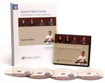 Amazon com: Speech Boot Camp Introduction to Public Speaking