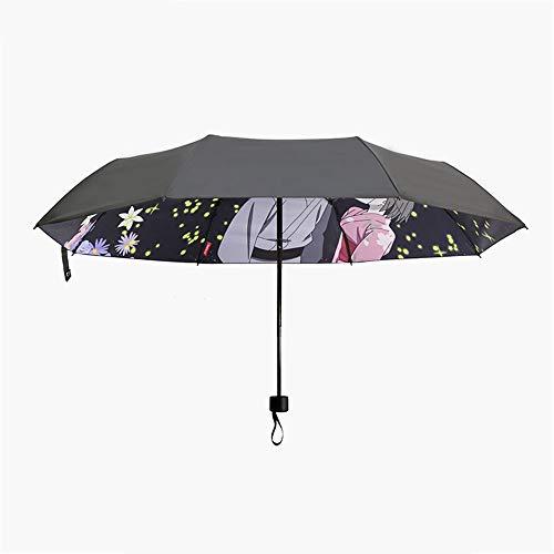 Regenschirm-Anime-nette Faltende Kreative Tendenz-Paar-Persönlichkeit