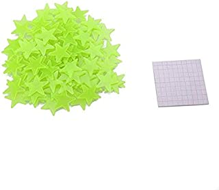 100Pcs Luminous Stars Glow in the Dark Fluorescent for Kids Room Diecoration