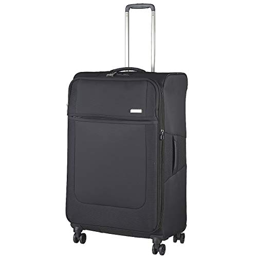 March 15 Imperial 4-Wheel Suitcase 78 cm Expandable L, Black (Black) - 2755-07-72