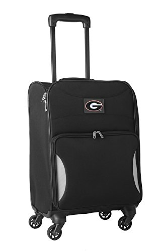 Lowest Prices! NCAA Georgia Bulldogs Lightweight Nimble Upright Carry on Trolley, 18-Inch, Black