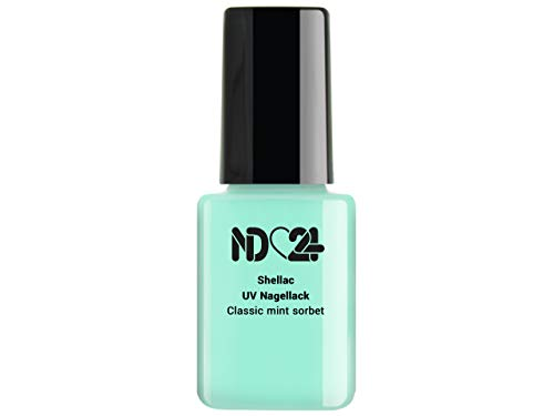 Shellac Uv/Led Nagellack - Classic Mint Sorbet - Grün - Studio Qualität - Made in Germany - 12ml