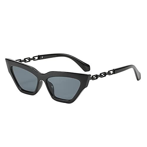 WANGZX Gafas De Sol De Ojo De Gato Negras Gafas De Sol para Mujer Gafas De Sol para Conducir Gafas De Sol para Conducir Gafas De Sol Trend Cool C01